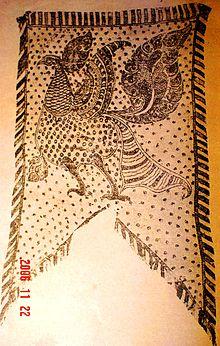 The ancient Garuda flag of the Karava community of Sri Lanka