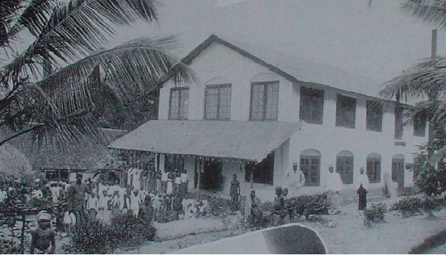 The Monrovia factory owned by the Amarasuriya family