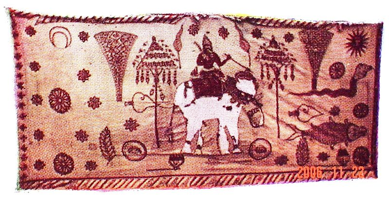 Karava maha kodiya flag elephant Sri lanka