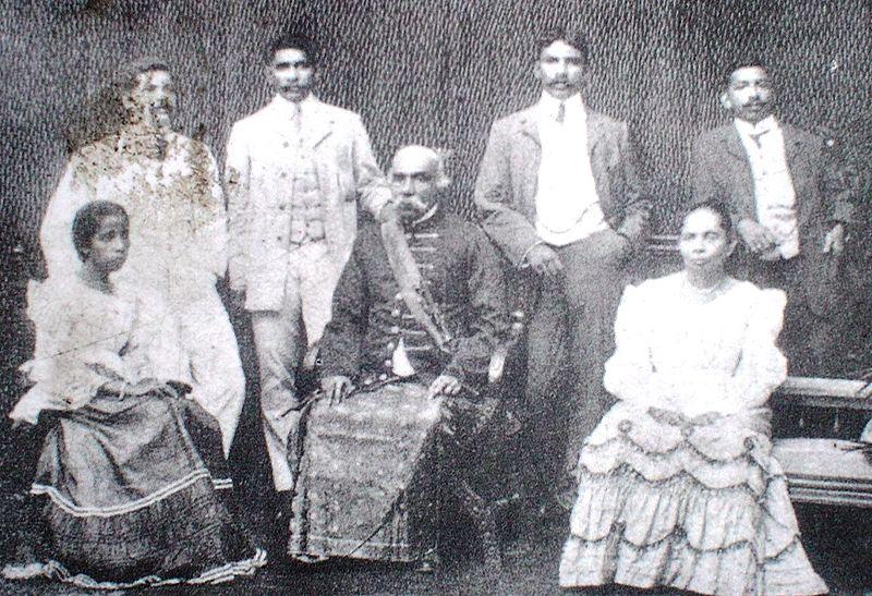 D S Senanayake's  family Mudaliyar