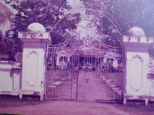 """Amaragiri"" the ancestral mansion of the Amarasuriya family of Galle. The family"