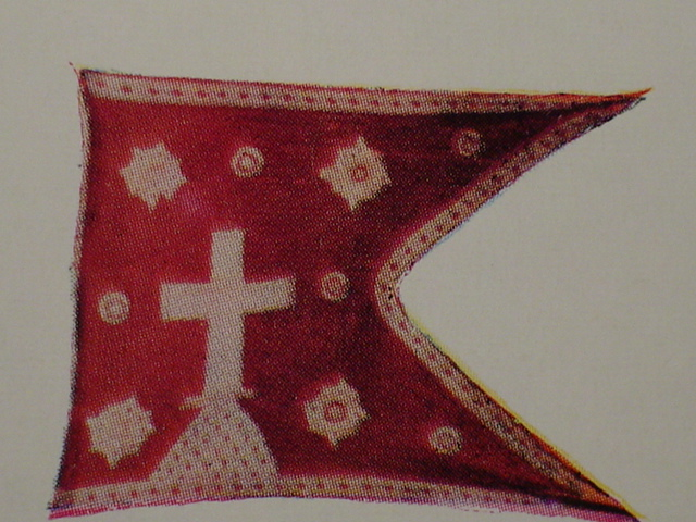 Another Karava Catholic flag from the Portuguese period
