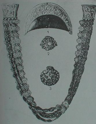 A Karava Siri Bo mala gold Necklace, Sri Lanka