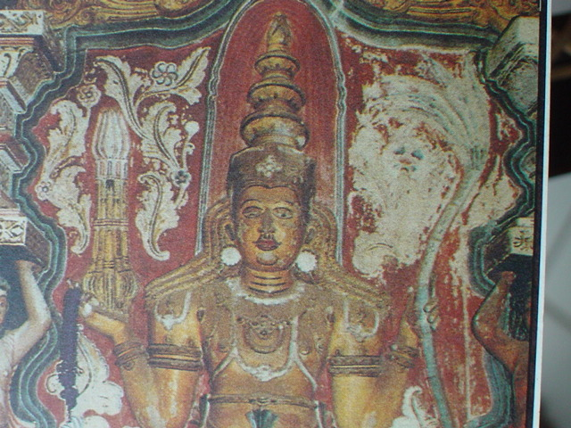 Ancient Sri lankan mural