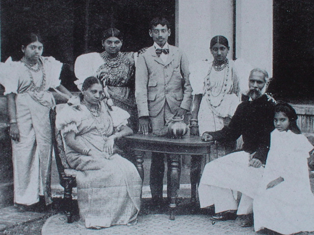 Philip Bartholomew  Palipane with his family