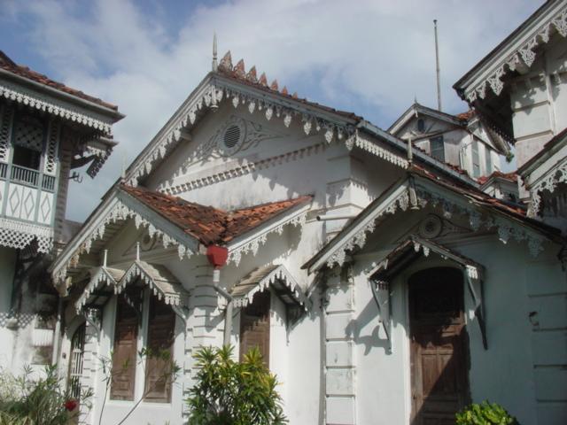 "The entrance to ""Amaragiri"" the ancestral mansion of the Amarasuriya family of G"