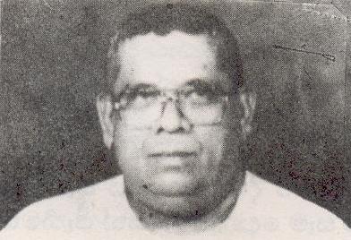 Deshabandu G P H Karunaratna