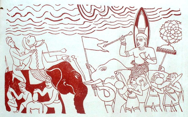 king dutugemunu Much is written of the great war of 205 bc to 161 bc between sinhala king dutugemunu and ellalan for the city of anuradhapura, and the central role played by dutugemunu's ten giant warriors (දසමහා යෝධයෝ) or the great warriors (dasa maha yodhayo in sinhalese) - the dasa maha yodha.