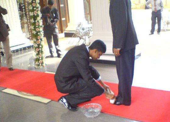 Wedding custom Sri Lanka