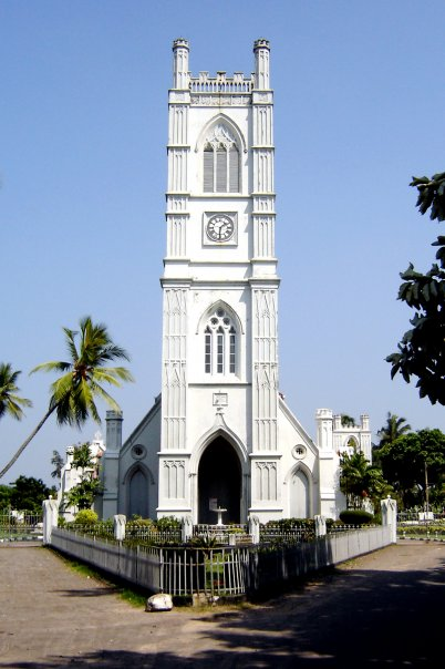 Holy Emmanue church Moratuwa Sri Lanka built by De Soysa family