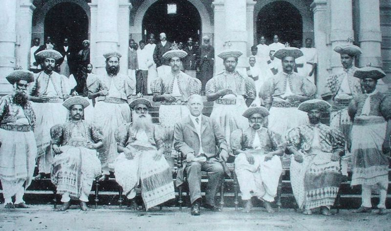 A group of Kandyan Chiefs