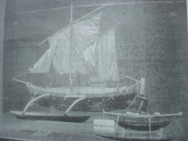 A Maha Oru boat ship from ancient Sri Lanka