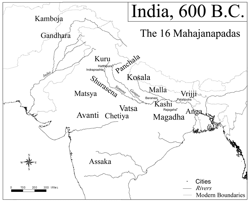 Kuru kingdom India maha janapada Kaurava