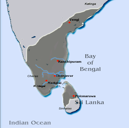 Pandya territories
