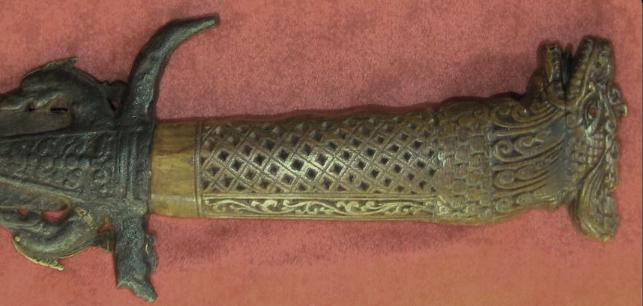 sword Makara hilt Sri Lanka