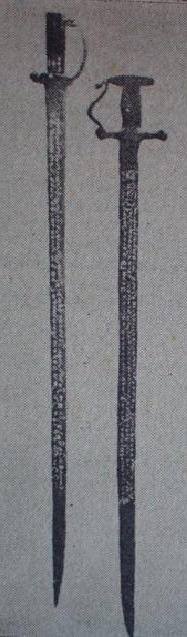 Ancient swords of Karava caste kings, Sri Lanka